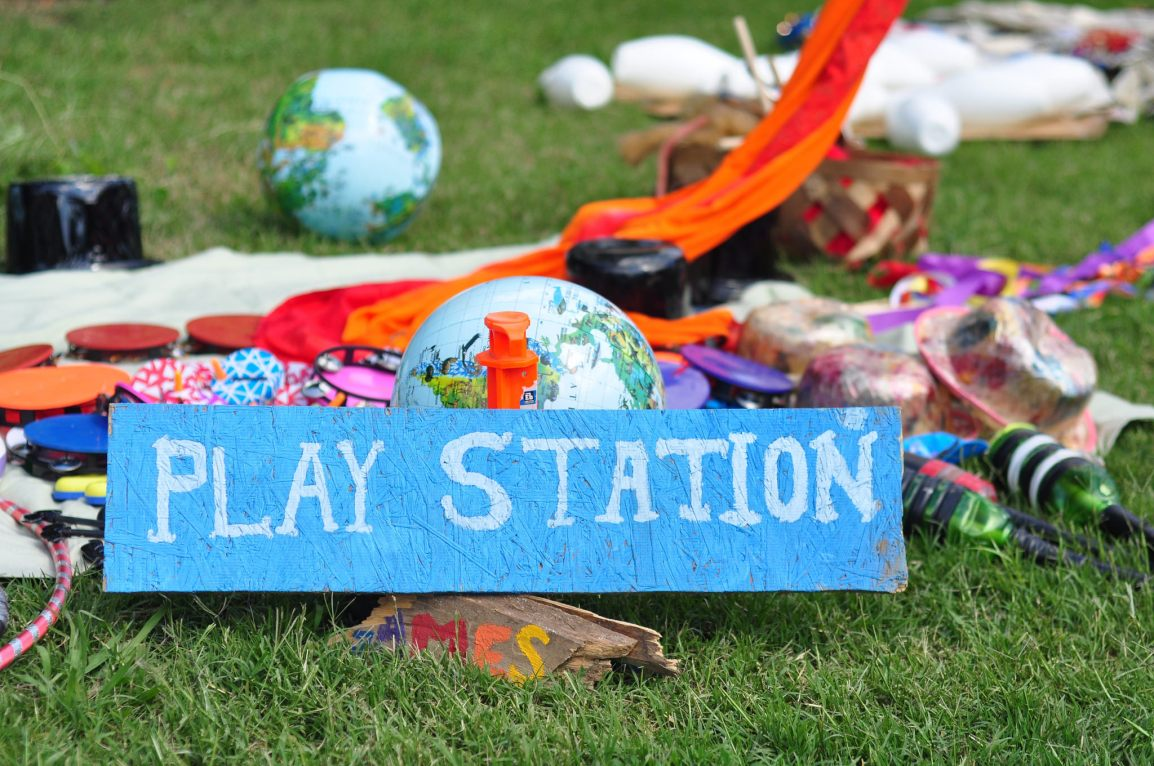 Earth Day Play Station
