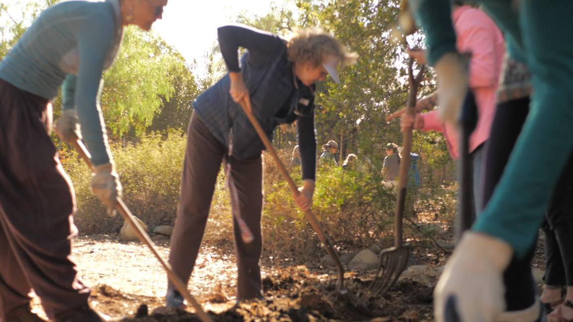 Ojai Community Demonstration Garden Community Work Day and Potluck:  Sat, April 6th – 10 am – 3 pm
